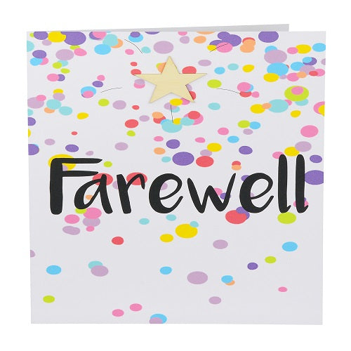 Large Card: Farewell