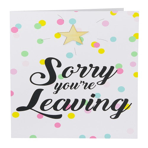 Large Card: Sorry You're Leaving