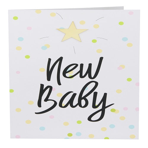 Large Card: New Baby