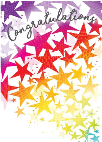 Large Card : Congratulations
