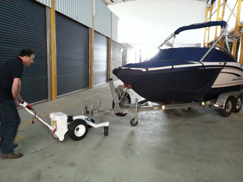 Cable/Hydraulic Override Boat Trailer with Hitch Adapter