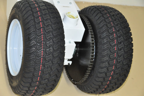"Parkit360 6.5"" Wide Track Tyres"