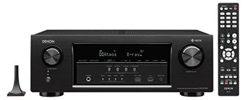 Denon AVR-S730H Audio & Video Component Receiver (Black)