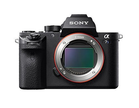 Sony a7S II ILCE7SM2/B 12.2 MP E-mount Camera with Full-Frame Sensor (Black)