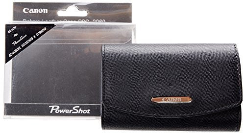 Canon PSC-2060 Deluxe Fitted Leather Case for the Select Powershot