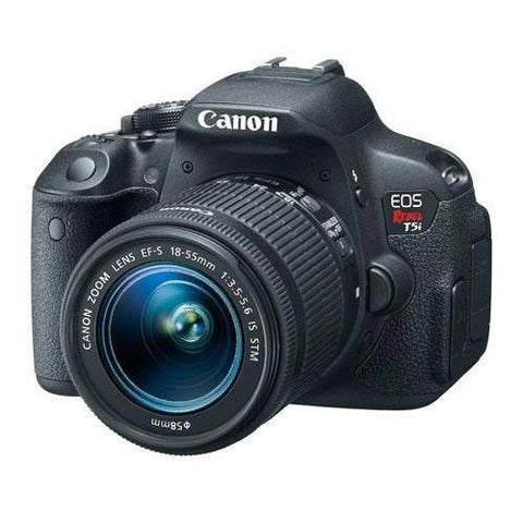Canon EOS Rebel T5i 18.0 MP CMOS Digital SLR with 18-55mm EF-S IS STM Lens
