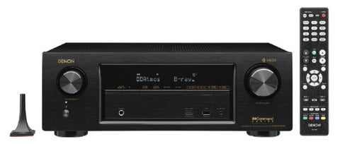 Denon AVR-X1400H 7.2 In-Command Receiver with HEOS Technology