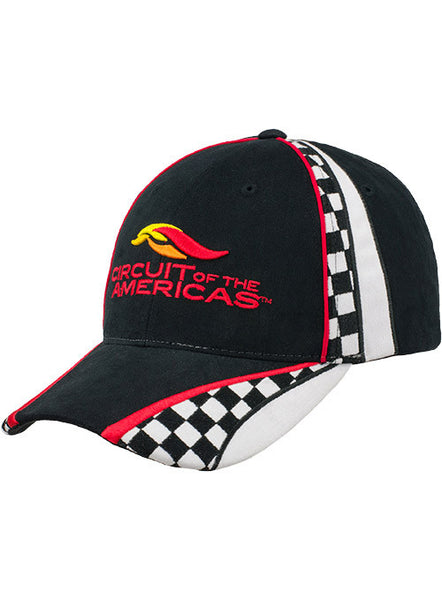 Circuit of The Americas Checkered Hat