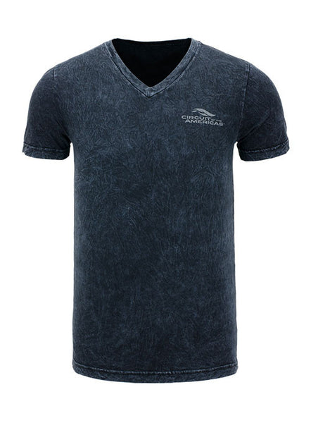Circuit of The Americas Mineral Wash V-neck T-shirt