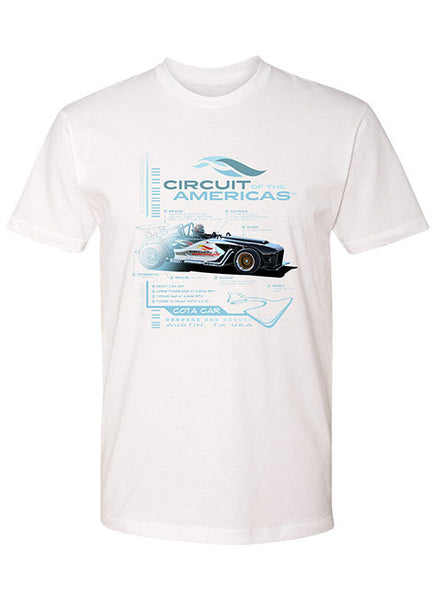Circuit of The Americas COTA Car T-Shirt