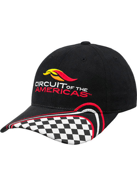 Circuit of The Americas Checkered Youth Hat