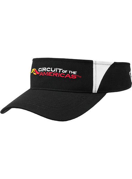 Circuit of The Americas Logo Visor