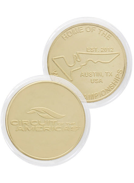 Circuit of The Americas Collectable Coin