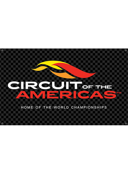 Circuit of The Americas Checkered Banner