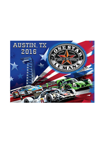 2016 Lone Star Le Mans Event Decal