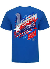 2016 F1® Neon Blue Event T-Shirt