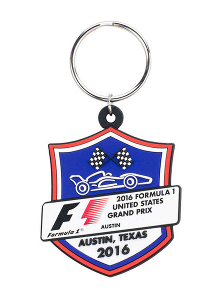 2016 F1® Badge Keychain