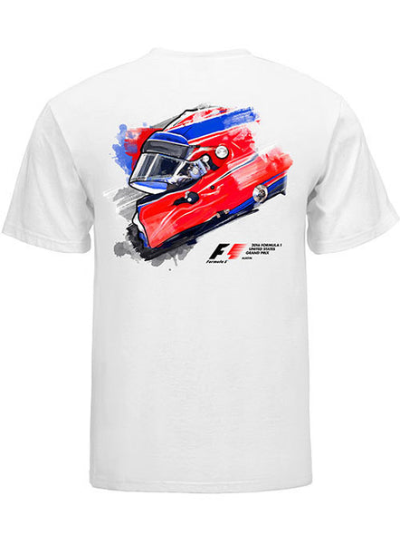 2016 F1 Painted Helmet T-Shirt