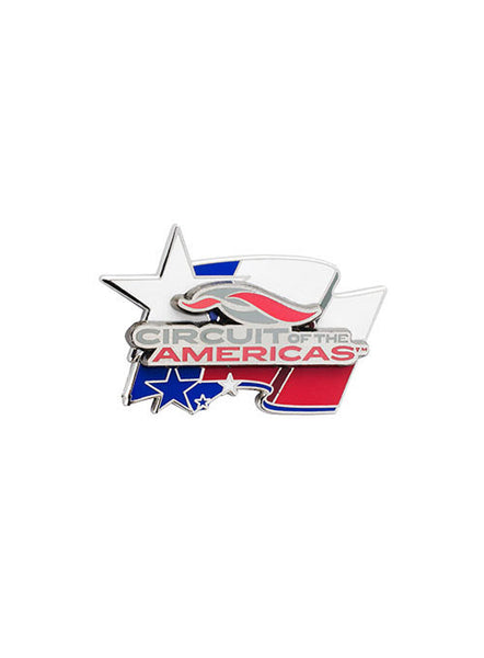Circuit of The Americas Texas Flag Hatpin