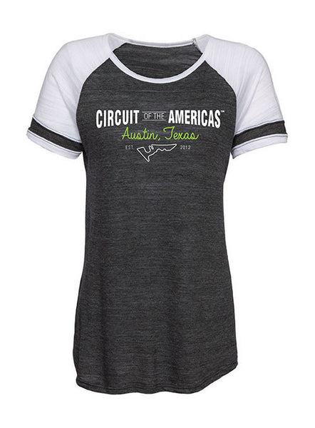Circuit of The Americas Ladies Football T-Shirt
