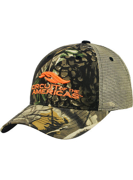 Circuit of The Americas Camo Meshback Hat