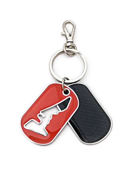Circuit of The Americas Track Outline Keychain