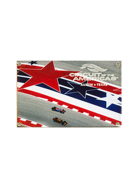 Circuit of The Americas Track Photo Magnet