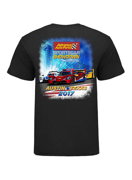 2017 IMSA Sportscar Showdown Event T-shirt