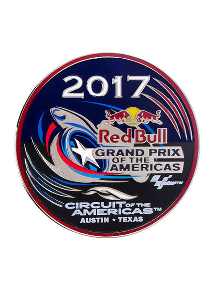 2017 Red Bull Grand Prix of The Americas Event Hatpin