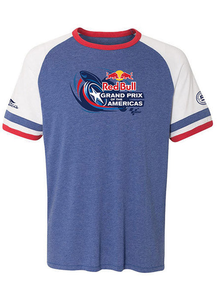 2017 Red Bull Grand Prix of the Americas Retro Ringer T-Shirt