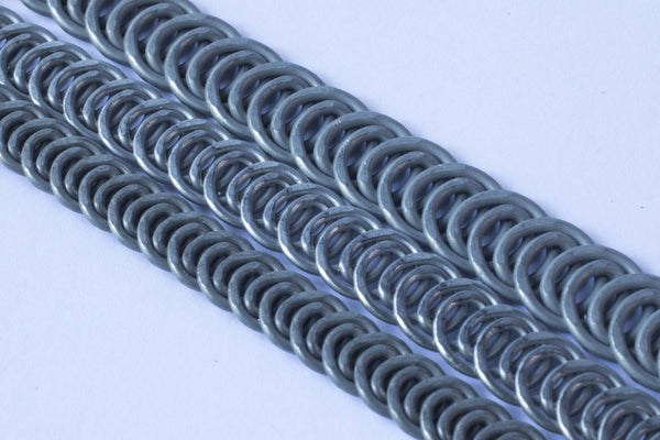 Continuous spiral steel coil