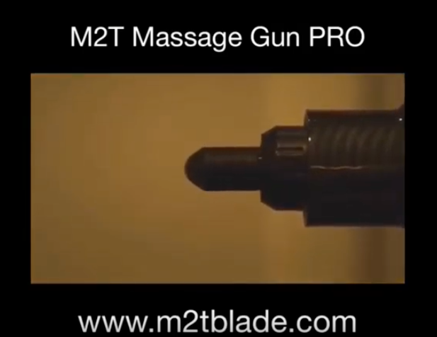 M2T-Blade Massage Gun - A Quitter Massage Gun