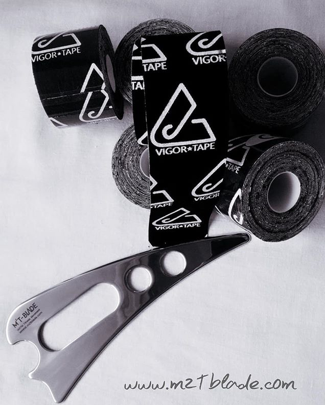 M2T-Blade  with 6 Vigor Tape Rolls {Kinesiology Tape}