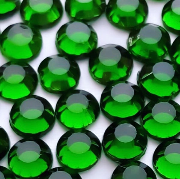 Korean Emerald Hotfix Rhinestones