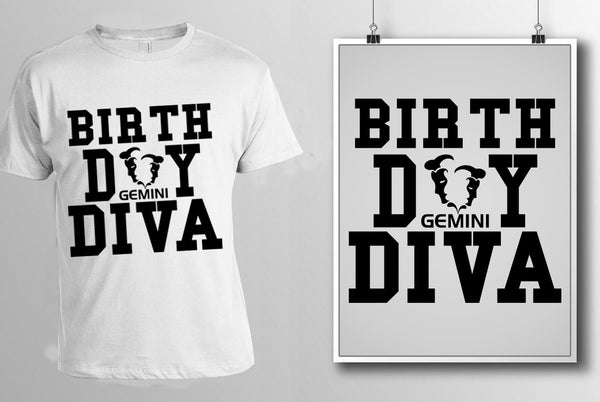 Gemini Birthday Diva