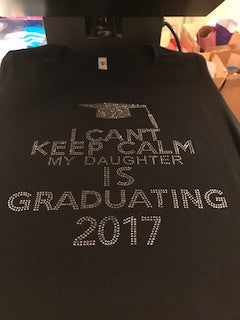 Keep Calm Daughter Graduation
