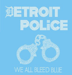 Detroit Police We All Bleed Blue