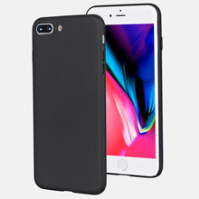 medome technology 1.1mm soft touch coated PC matte phone cover for iPhone 8 plus hard case, slim fit for iPhone slim case
