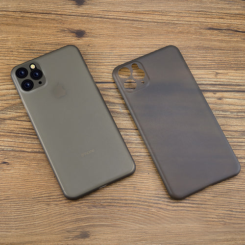 0.35mm Super Thin Matte PP Case For iPhone XI, XIr, XI Max