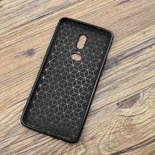 Super slim fit for OnePlus 6 case, matte protective TPU phone cover for OnePlus6 case with Rubik's cube pattern