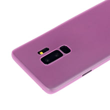 Ultra thin 0.35mm matte phone cover for Galaxy S9 case, slim fit for Samsung S9 plus case