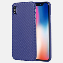 Ultra thin carbon fiber case for iPhone X, slim fit grip well for iPhone carbon case