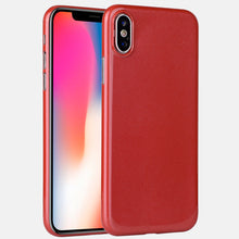 0.35mm ultra thin shiny PP phone cover for iPhone X glossy case, grip well bottom closed for iPhone X case