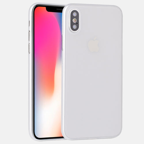 0.35mm Thin Matte PP Case For iPhone X