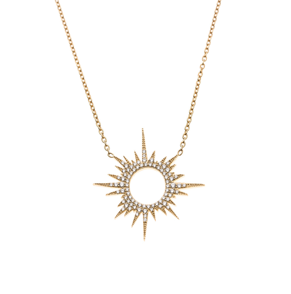 Sunburst Necklace Summer Sale