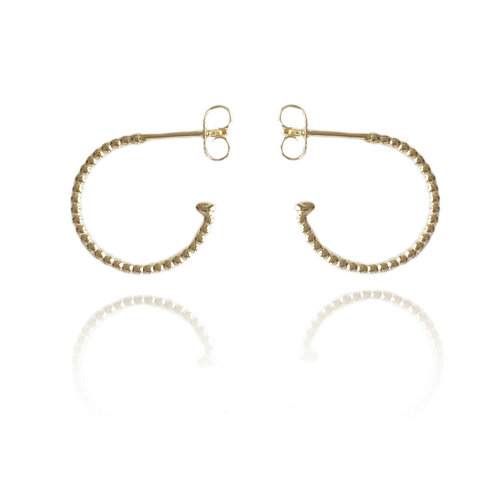Pearl Bubble Hoops