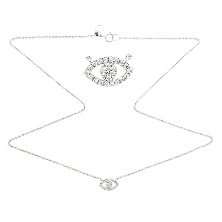 Eye Diamond Necklace