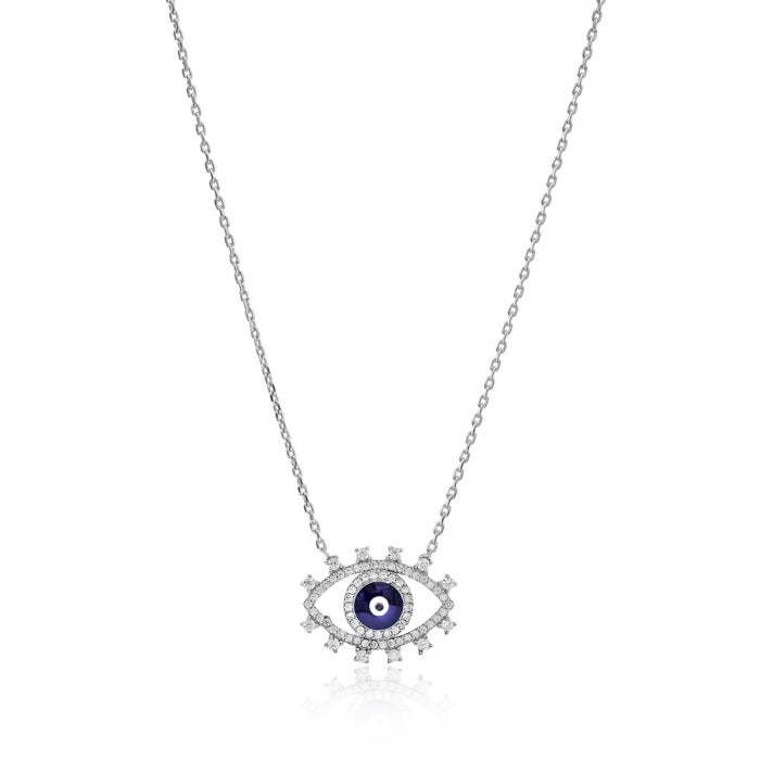Sparkly Eye Necklace Summer Sale