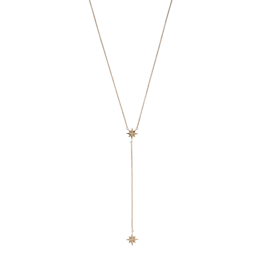 North Star Lariat Necklace