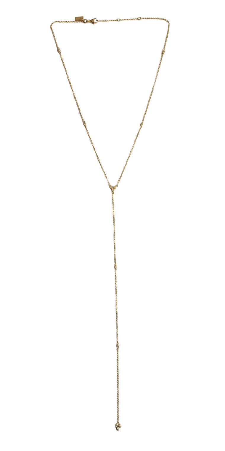 Triade Lariat Necklace